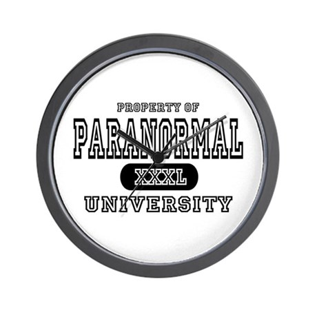 Paranormal University Wall Clock