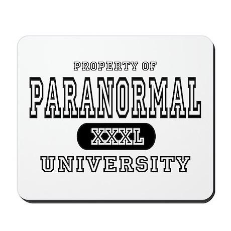 Paranormal University Mousepad
