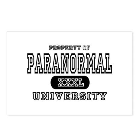 Paranormal University Postcards (Package of 8)