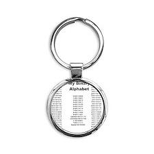 4-andrewshirt Round Keychain