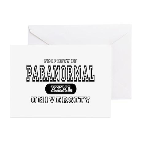 Paranormal University Greeting Cards (Pk of 10