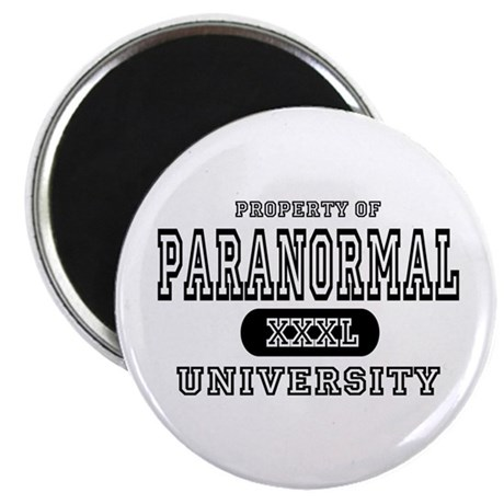 "Paranormal University 2.25"" Magnet (10 pack)"
