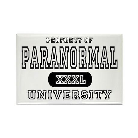 Paranormal University Rectangle Magnet