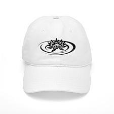 yoga lotus Baseball Cap