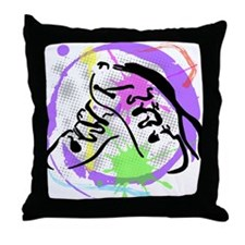 grunge irish dance Throw Pillow