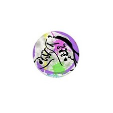 grunge irish dance Mini Button
