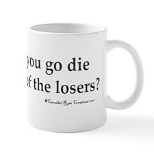 dielosers_red Mug