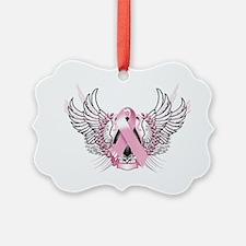 Awareness Tribal Pink Ornament
