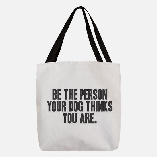 Be the Person Polyester Tote Bag