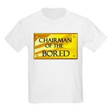 CHAIRMAN OF BORED Kids T-Shirt