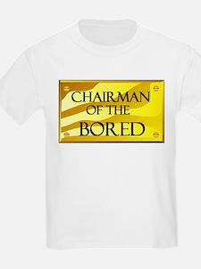 CHAIRMAN OF BORED Kids T-Shirt