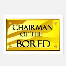 CHAIRMAN OF BORED Postcards (Package of 8)