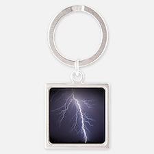 wilkens-stormtracker-3 Square Keychain