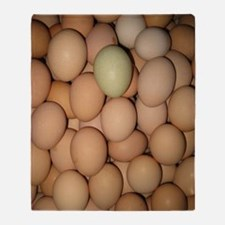 Eggs Throw Blanket