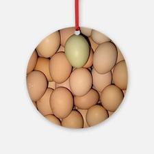 Eggs Round Ornament