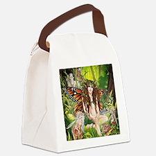 Terra-Daughter of Gaia Faerie Canvas Lunch Bag