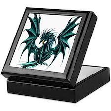 Jade Dragon Keepsake Box