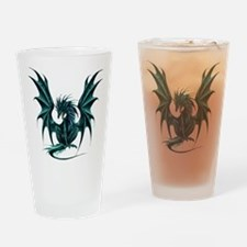 Jade Dragon Drinking Glass