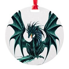 Jade Dragon Ornament
