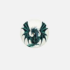 Jade Dragon Mini Button