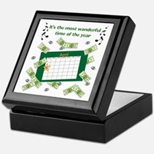 Income Tax Time Keepsake Box