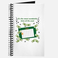 Income Tax Time Journal