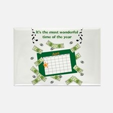 Income Tax Time Rectangle Magnet