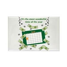 Income Tax Time Rectangle Magnet (10 pack)