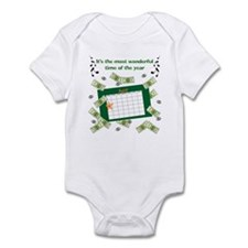 Income Tax Time Infant Bodysuit