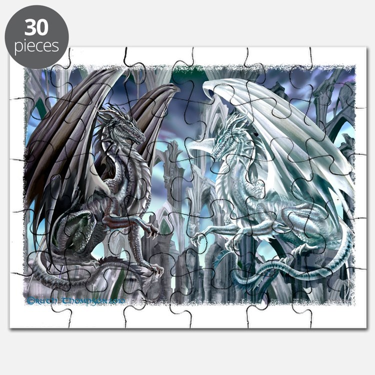 Checkmate Dragons Puzzle