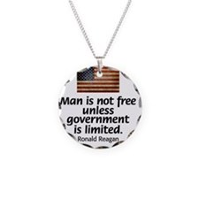 Reagan - Man is Not Free Necklace