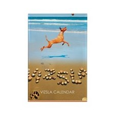 Beach_1_Cover Rectangle Magnet