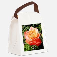 Blush Rose Canvas Lunch Bag