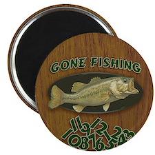 Gone Fishing Magnet