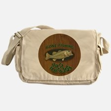 Gone Fishing Messenger Bag