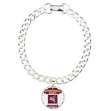 Battalion Charm Bracelet, One Charm