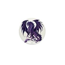 Draconis Nox Dragon Mini Button
