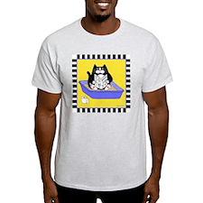 T_tux-litterbox-yllw T-Shirt