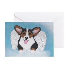 Tri Angel Baby Greeting Card