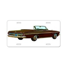 1963 Plymouth Sport Fury Aluminum License Plate