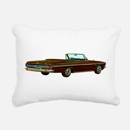 1963 Plymouth Sport Fury Rectangular Canvas Pillow