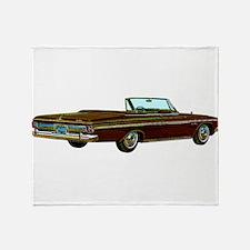 1963 Plymouth Sport Fury Throw Blanket