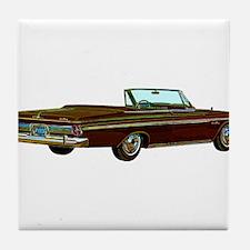 1963 Plymouth Sport Fury Tile Coaster