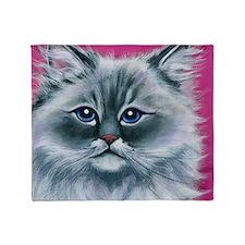 Ragdoll Cat Throw Blanket