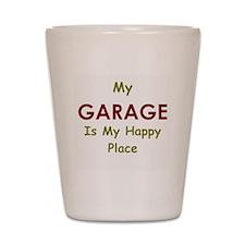 Garage black Shot Glass