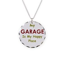 Garage black Necklace