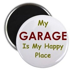 Garage black Magnet