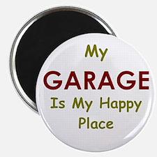 Garage black Magnet