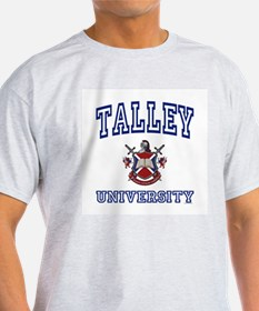 TALLEY University Ash Grey T-Shirt
