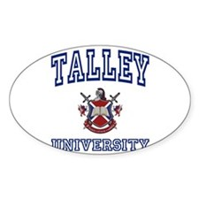 TALLEY University Oval Decal